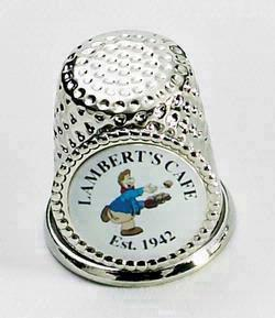 Thimble Souvenir Collectible w/ PhotoEmblem, 7/8