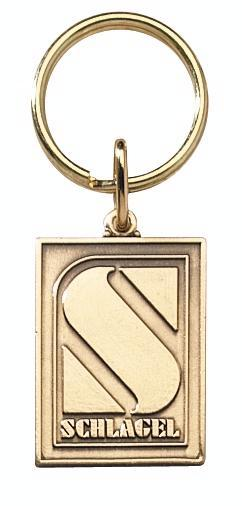 Economical Die Struck Brass Key Tag