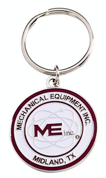 Economical Die Struck Iron Key Tag