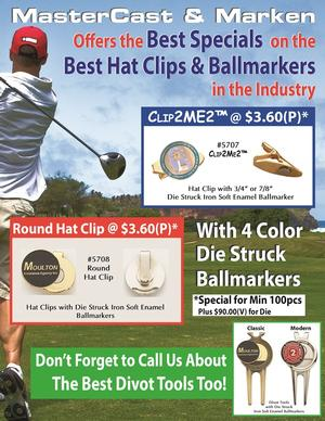 Golf Hat Clip Special